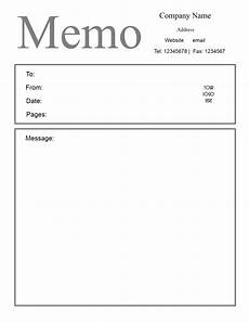 Memo Template Word Free Microsoft Word Memo Template