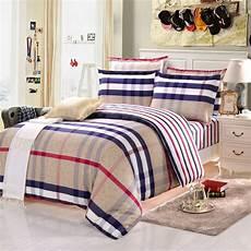 2016 newest 4pcs 100 cotton bedding sets striped bedding