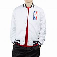 nba coats for nike sb nba bomber jacket white white