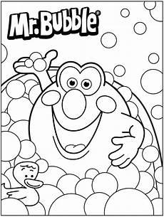 Coloring Pages Bubbles Bath Time 3d Coloring Pages