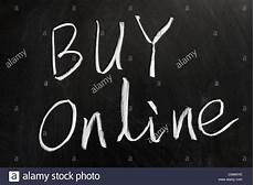 Online Chalkboard Chalk Drawing Quot Buy Online Quot Word On The Chalkboard
