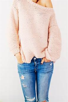 stricken pullunder peachy keen oversize knitted sweater allfreeknitting