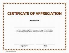 Certificate Of Appreciation Doc Certificate Of Appreciation