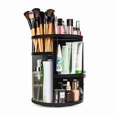360 degree rotating makeup organizer eloki