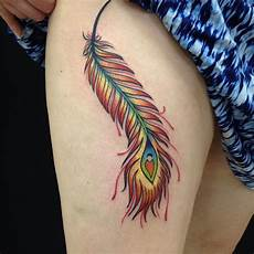 Female Feather Designs Tattoos For Women 30 Cutest Feather Tattoos To Dazzle You