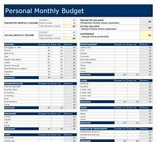 Personal Financial Management Excel Template Editable Free Excel Money Management Monthly Budget