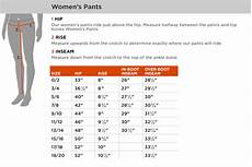 Prana Womens Pants Size Chart Fly Women S Pant Sizing