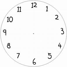 Free Printable Clocks Printable Blank Clock Faces