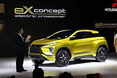mitsubishi electric car 2020 mitsubishi ex concept previews future all electric