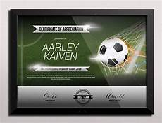 Soccer Certificate Templates For Word Sports Certificate Templates Free Word Pdf Documents