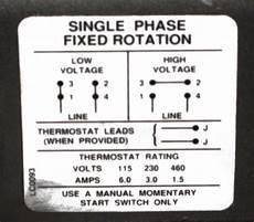 emerson 1hp electric motor wiring diagram