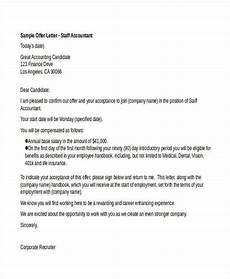 Letters Offering Employment 29 Job Offer Letter Example Free Amp Premium Templates