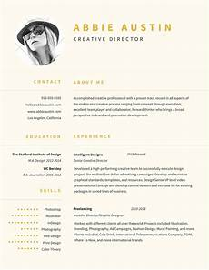 About Me Resumes Abbie Austin Creative Director Contact About Me 916 555