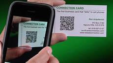 Qrcode Business Cards Qr Code Business Cards Youtube