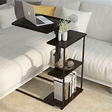 adjustable rolling laptop stand pc table desk sofa bedside