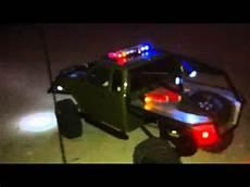 1 10 Police Light Bar Led Light Bar Rc 1 10 Axial Scale Crawler Youtube