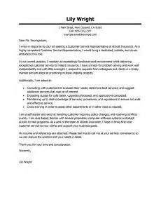 Customer Service Letter Sample Leading Professional Customer Service Representative Cover