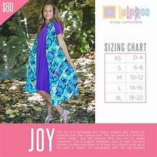 Lularoe Sm Size Chart Check Out This Size Chart For Lularoe Joy If You Need Any