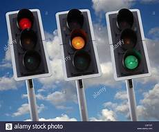 Green Light On Car Uk Traffic Light Showing Green Amber And Red In Uk Traffic