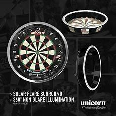 Unicorn Solar Flare Dartboard Lighting System Unicorn Solar Flare Ultimate Surround Lighting System Fits