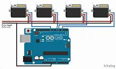 Arduino Servo Motor Control Controlling Multiple Servo Motors With Arduino