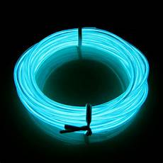 Neon Light Strips For Room New Green 16ft Electronic Luminescent Neon El Wire Garden