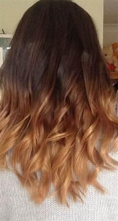 Dark Brown Hair Dip Dyed Light Brown 50 Dip Dye Hair Color Ideas Hairstylo