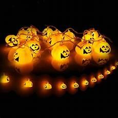 Jack O Lantern Lights Battery 16 Led Battery Powered Halloween 3d Jack O Lantern Pumpkin