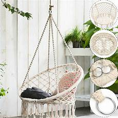 macrame swing review macrame hammock swing chair by sorbus
