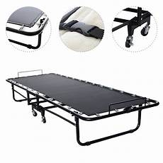 premium folding bed with memory foam mattress 75 x 30 5