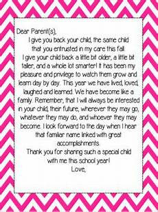 Letters To Teachers From Students End Of The Year Teacher Letter To Students And Parents Tpt