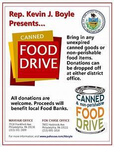 Can Food Drive Flyer Mayfair Civic Association December 2012