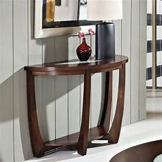 steve silver company rafael sofa table in cherry with