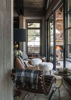 Deco Montagne Design Ski In Ski Out Chalet In Montana With Rustic Modern Styling