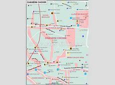 Chandni Chowk Map,Chandni Chowk Delhi