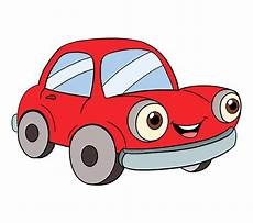 Cartoon Cars How To Draw A Cartoon Car Easy Step By Step Drawing Guides