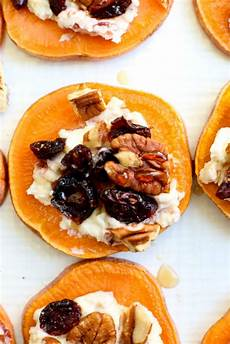 sweet potato quot toasts quot appetizer happy healthy
