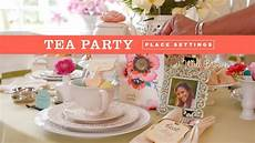 Tea Party Photo Invitations How To Creative Place Setting For A Tea Party Youtube