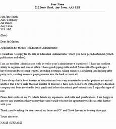 Cover Letters Administration Education Administrator Cover Letter Example Icover Org Uk