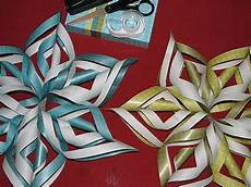 3d Paper Snowflake Tuto How To Make A 3d Paper Snowflake Youtube