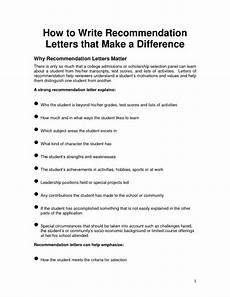 How To Write Recommendation Letter For Employee Employee Recommendation Letter Template Business