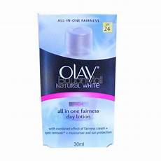 Olay Natural White All In One Fairness Day Cream Light Olay Natural White Rich All In One Fairness Day Lotion 30ml