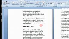 Booklet Template Word How To Create Printable Booklets In Microsoft Word 2007