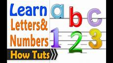 Letter And Learn To Read English 1 Hour Letters And Numbers Youtube