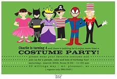 Costume Party Invites Costume Party Invitation Would Be Cute For A Halloween