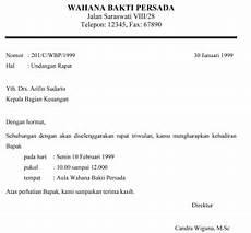 surat undangan resmi dan tidak resmi rasmi re