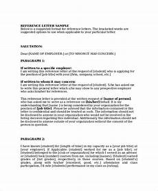 Business Reference Template 10 Sample Business Reference Letter Templates Pdf Doc