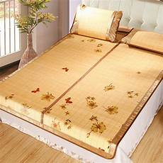 bamboo bed mattress floor mat animal pattern summer