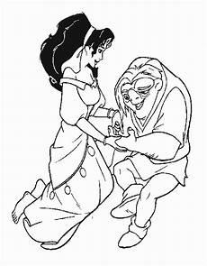 Quasimodo Malvorlagen Kita Quasimodo Et Esmeralda Gif 530 215 680 Disney Coloring