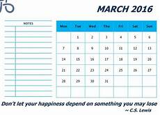 Monthly Word Calendar 2016 Calendar Templates Microsoft And Open Office Templates